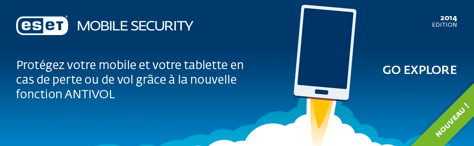 Nouvelle version d'ESET Mobile Security