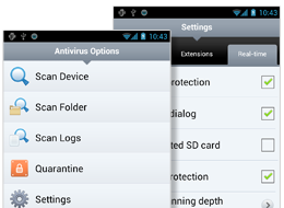 ESET Endpoint Security for Android - screenshot