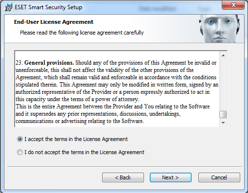 how to stop end-user license agreement for microsoft software